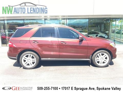 Pre-Owned 2013 Mercedes-Benz M-Class ML 350 All-Wheel Drive with Locking Differential 4MATIC Sport Utility