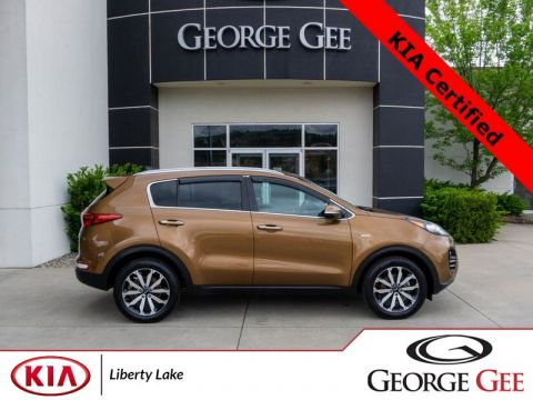 New 2017 Kia Sportage EX All-Wheel Drive with Locking Differential Sport Utility