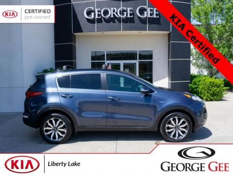 Certified Pre-Owned 2018 Kia Sportage EX All-Wheel Drive with Locking Differential Sport Utility